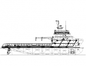 75m Platform Supply Vessel