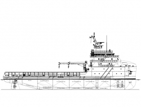 78M PLATFORM SUPPLY VESSEL