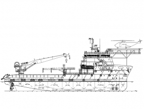 85m Subsea Support / Maintenance Vessel